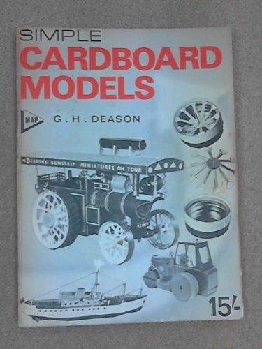 9780853440291: Simple Cardboard Models