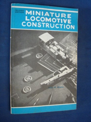 9780853440758: Miniature Locomotive Construction