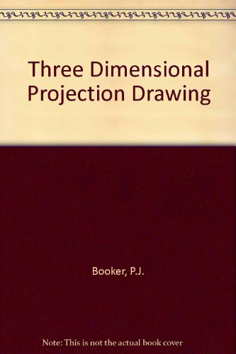 9780853440826: Three Dimensional Projection Drawing