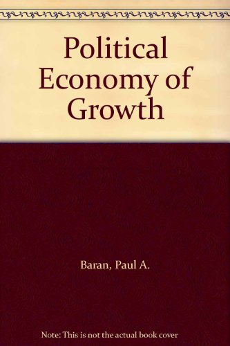 9780853450030: Political Economy of Growth