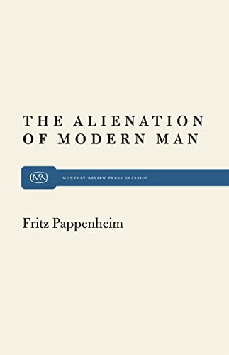 Alienation of Modern Man: Fritz Pappenheim