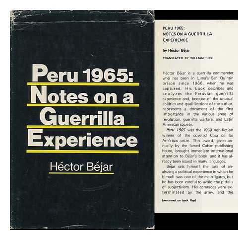 9780853451211: Peru 1965: Notes on a Guerrilla Experience