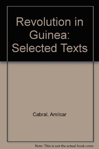 9780853451440: Revolution in Guinea: Selected Texts