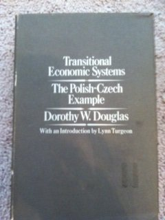 9780853452072: Transitional Economic Systems: The Polish-Czech Example