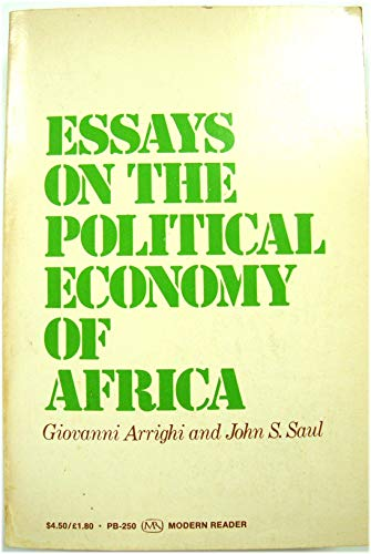 9780853452348: Essays on the Political Economy of Africa