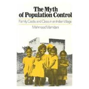 9780853452843: Myth of Population Control: Family, Caste and Class in an Indian Village