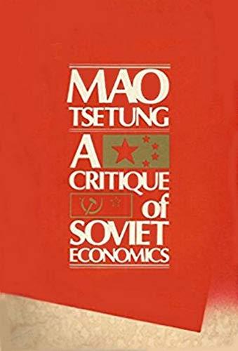 9780853454595: Critique of Soviet Economy