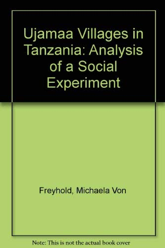 9780853455127: Ujamaa Villages in Tanzania: Analysis of a Social Experiment