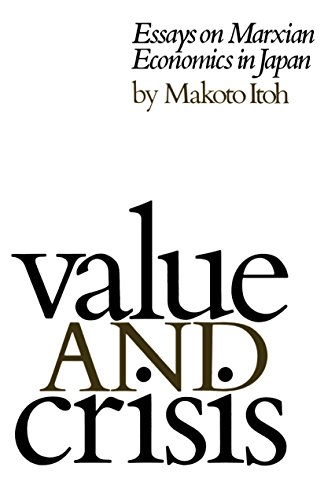 9780853455561: Value and Crisis: Essays on Marxian Economics in Japan