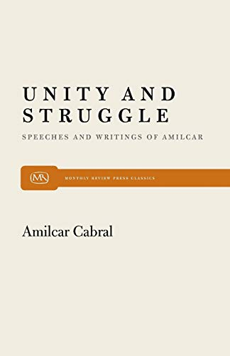 9780853456254: Unity and Struggle: Speeches and Writings of Amilcar Cabral (Monthly Review Press Classic Titles)