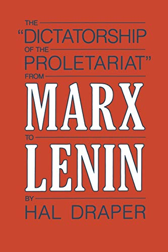 9780853457268: The Dictatorship of the Proletariat,
