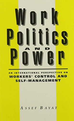 9780853458340: Work, Politics, and Power: An International Perspective on Workers' Control and Self-Management