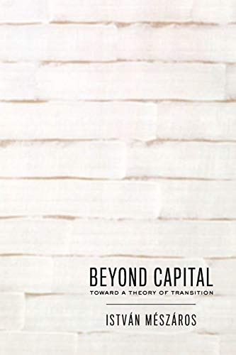 9780853458814: Beyond Capital: Toward a Theory of Transition