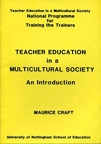 9780853591566: Teacher Education in a Multicultural Society by Craft, Maurice