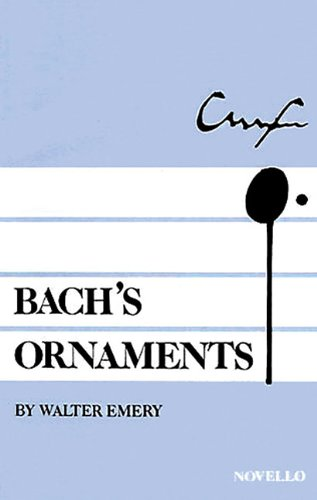 Bach's Ornaments.