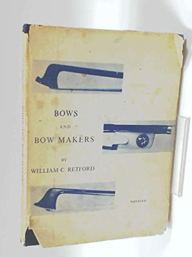 9780853600794: Bows and Bow Makers