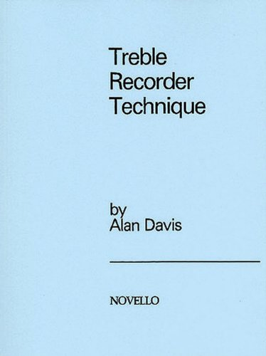 9780853601173: Treble Recorder Technique