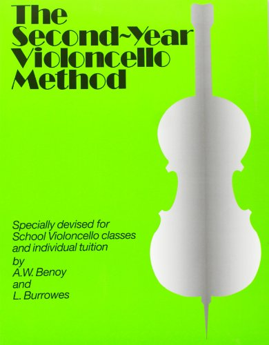 9780853601746: The Second Year Cello Method