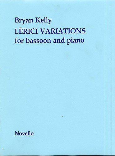 9780853602255: Lerici Variations for Bassoon & Piano