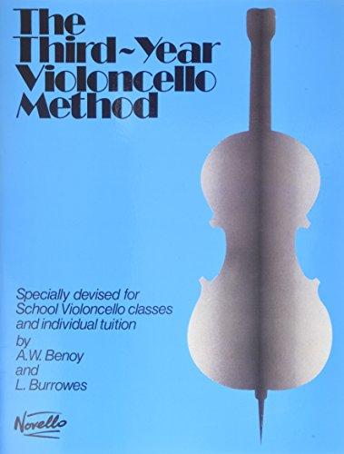9780853602422: The Third-Year Cello Method