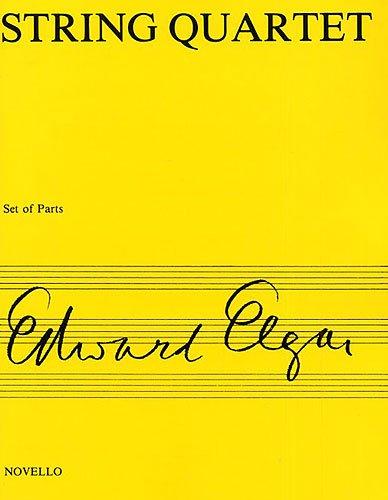 9780853602514: Elgar String Quartet Op.83: Parts