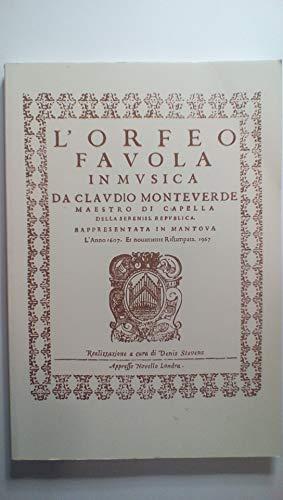 Claudio Monteverdi: L Orfeo - Favola in