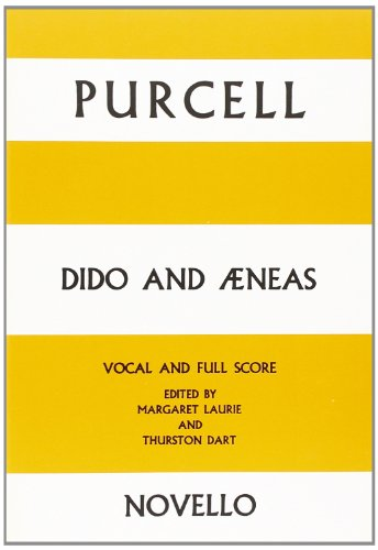 Dido and Aeneas Vocal and Full Score