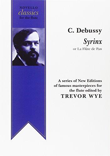 9780853603290: Claude Debussy: Syrinx (la Flute De Pan) Ed. Trevor Wye