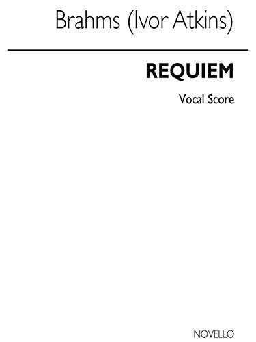 9780853603559: Johannes Brahms: Requiem Op.45 (Novello Vocal Score)