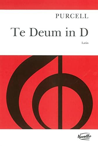 9780853603863: Purcell Te Deum in d Vocal Score