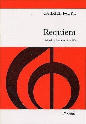 9780853604082: FAURE REQUIEM SATB VOCAL SCORE