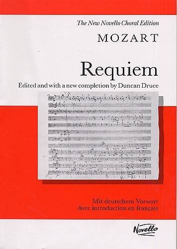 9780853604167: MOZART REQUIEM VOCAL SCORE