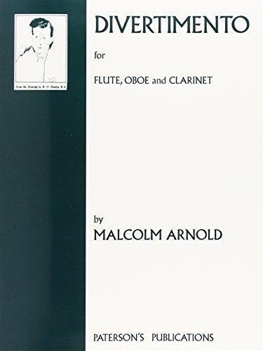 9780853605102: Arnold Malcolm Divertimento Op37 Flute O