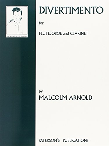 9780853605102: Arnold Malcolm Divertimento Op37 Flute O