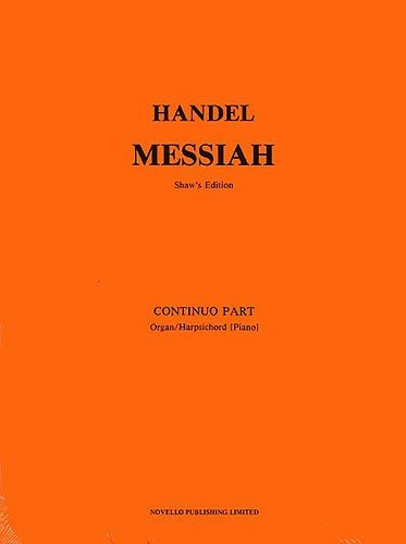 9780853605119: Messiah: Basso Continuo Part
