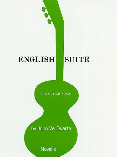 9780853605195: John W. Duarte: English Suite for Guitar