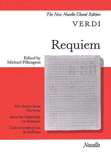 9780853605430: Requiem: Vocal Score
