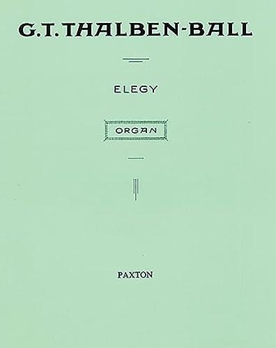 9780853606512: Elegy for Organ