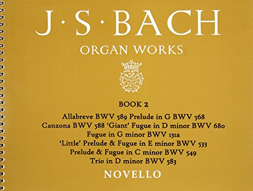 9780853608257: BACH ORGAN WORKS BK2 ORGAN