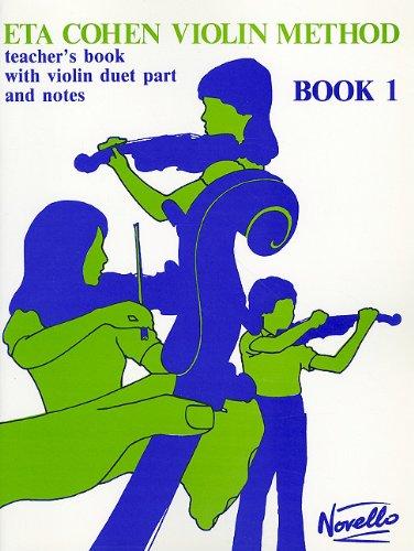 9780853608646: Eta Cohen Violin Method - Book 1: Teacher's Book with Violin Duet Part and Notes