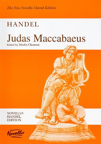 9780853609407: JUDAS MACCABEUS VOCAL SCORE (New Novello Choral Editions)