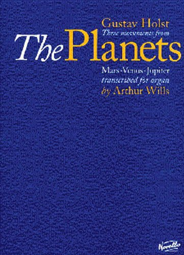 9780853609483: THREE MOVEMENTS FROM THE PLANETS TRANSCRIBED FOR ORGAN