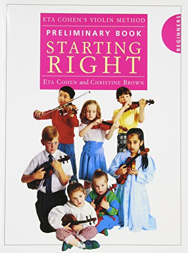 9780853609841: Eta Cohen Violin Method Preliminary Book: Starting Right