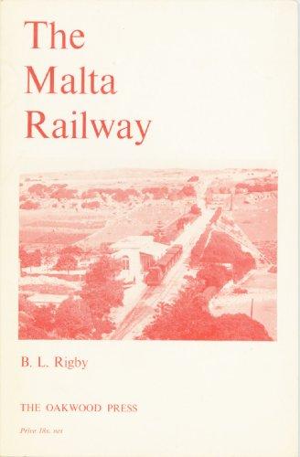 9780853610168: Malta Railway