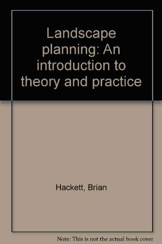 Landscape Planning (0853621209) by Brian Hackett