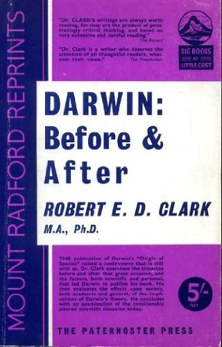 9780853640158: Darwin: Before and After (Mount Radford Reprints)