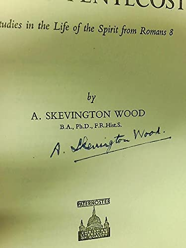 Paul's Pentecost (0853640513) by Arthur Skevington Wood