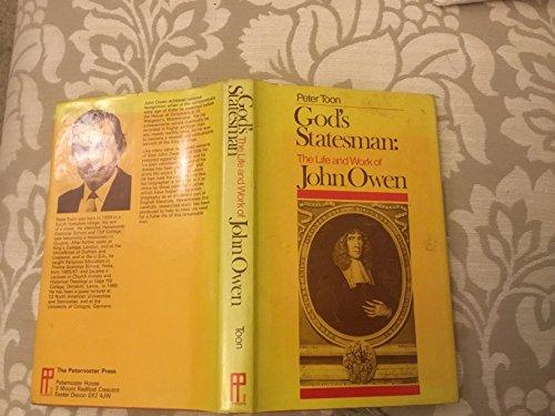 9780853641339: God's Statesman: Life of John Owen