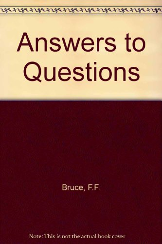 9780853642466: Answers to Questions