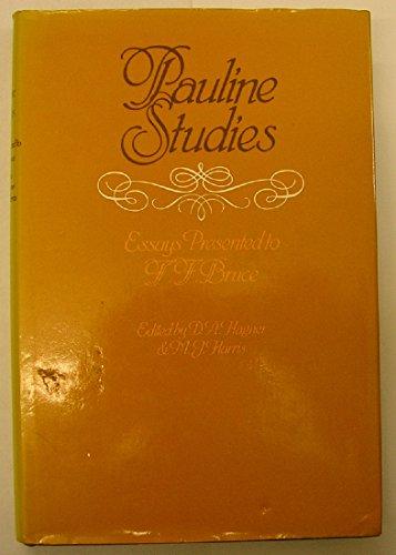 9780853642718: Pauline Studies: Essays Presented to F.F.Bruce